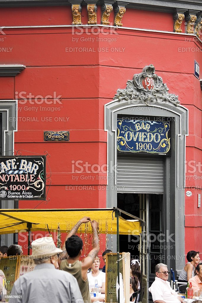 Turistic corner 'in Mataderos' stock photo