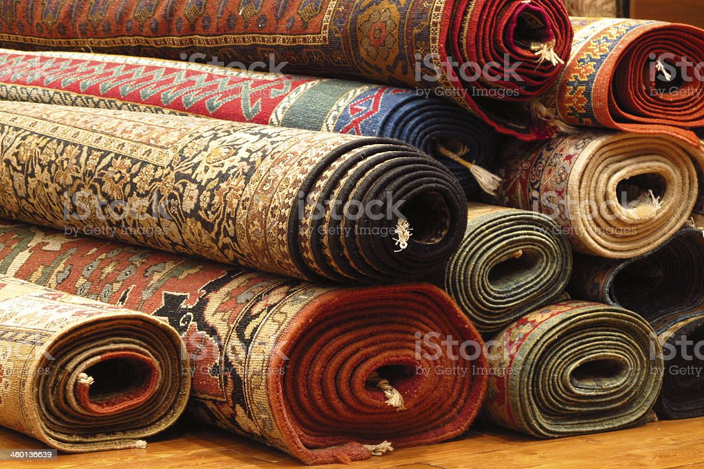 Turk Carpets stock photo