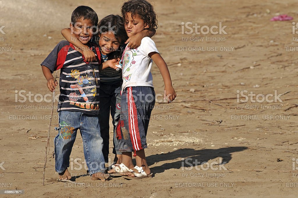 Turk kids stock photo