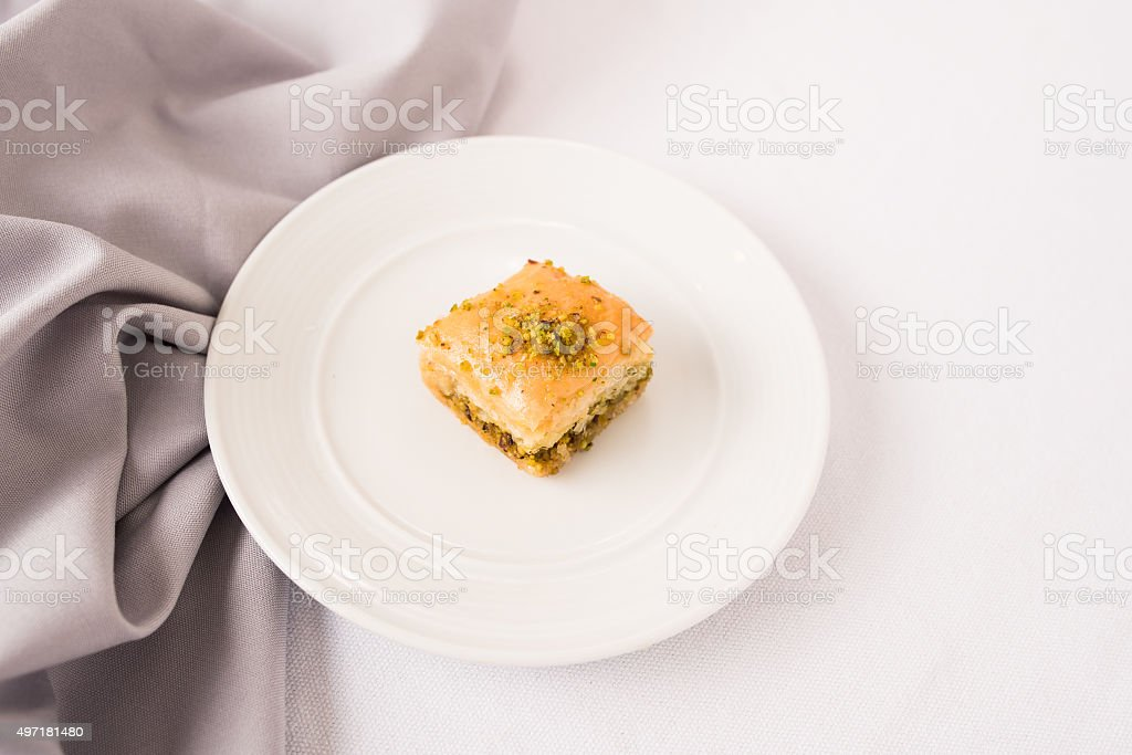 Turkey baklava, sweet stock photo