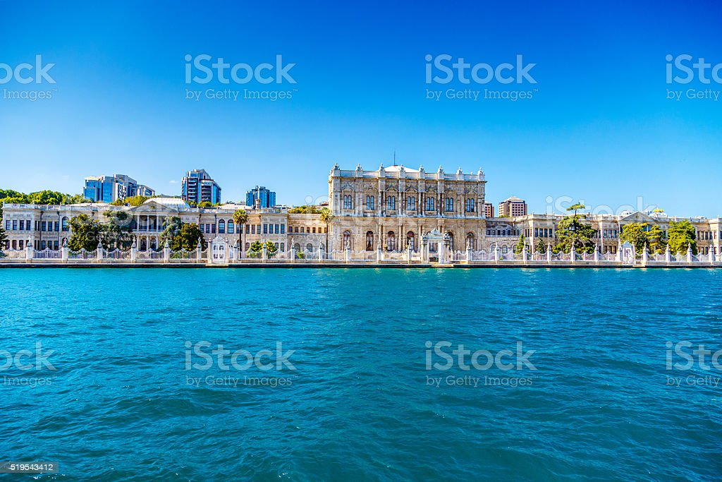 Turkey Bosphorus Palace stock photo