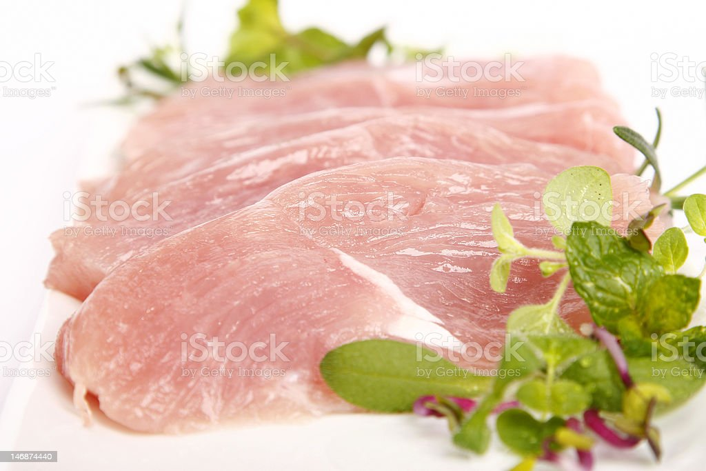 Turkey breast royalty-free stock photo