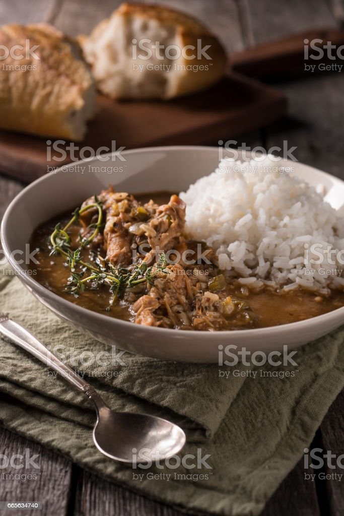 Turkey Gumbo stock photo