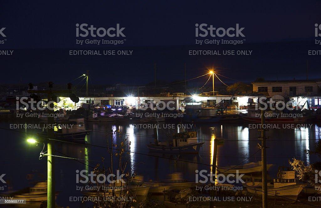 Turkey, igneada, limankoy stock photo