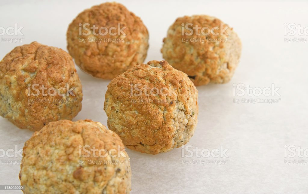 Turkey Meatballs royalty-free stock photo