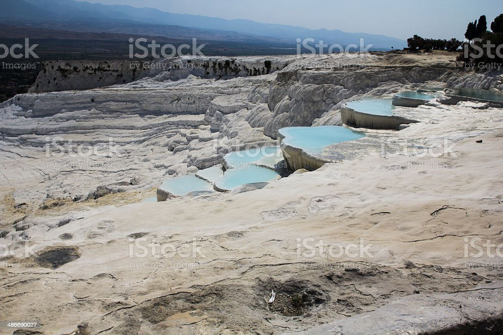 Turkey, Pamukkale royalty-free stock photo