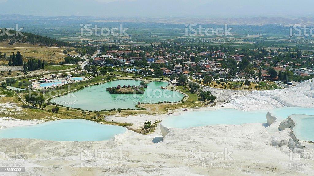 Turkey, Pamukkale royalty-free stock photo