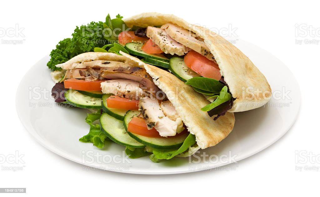 Turkey pita bread stock photo