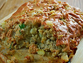 Turkey, Potato , Zucchini Meatloaf