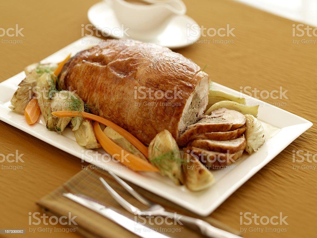 Turkey Roll stock photo