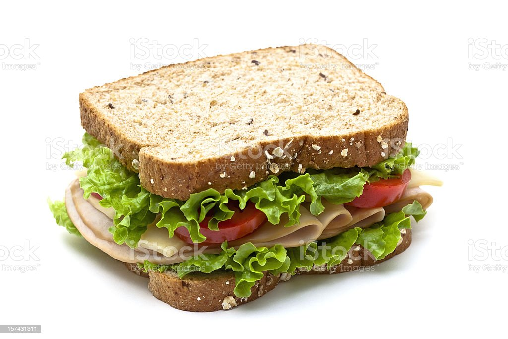 Turkey Sandwich stock photo
