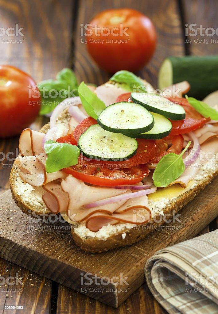 Turkey Sandwich stock photo