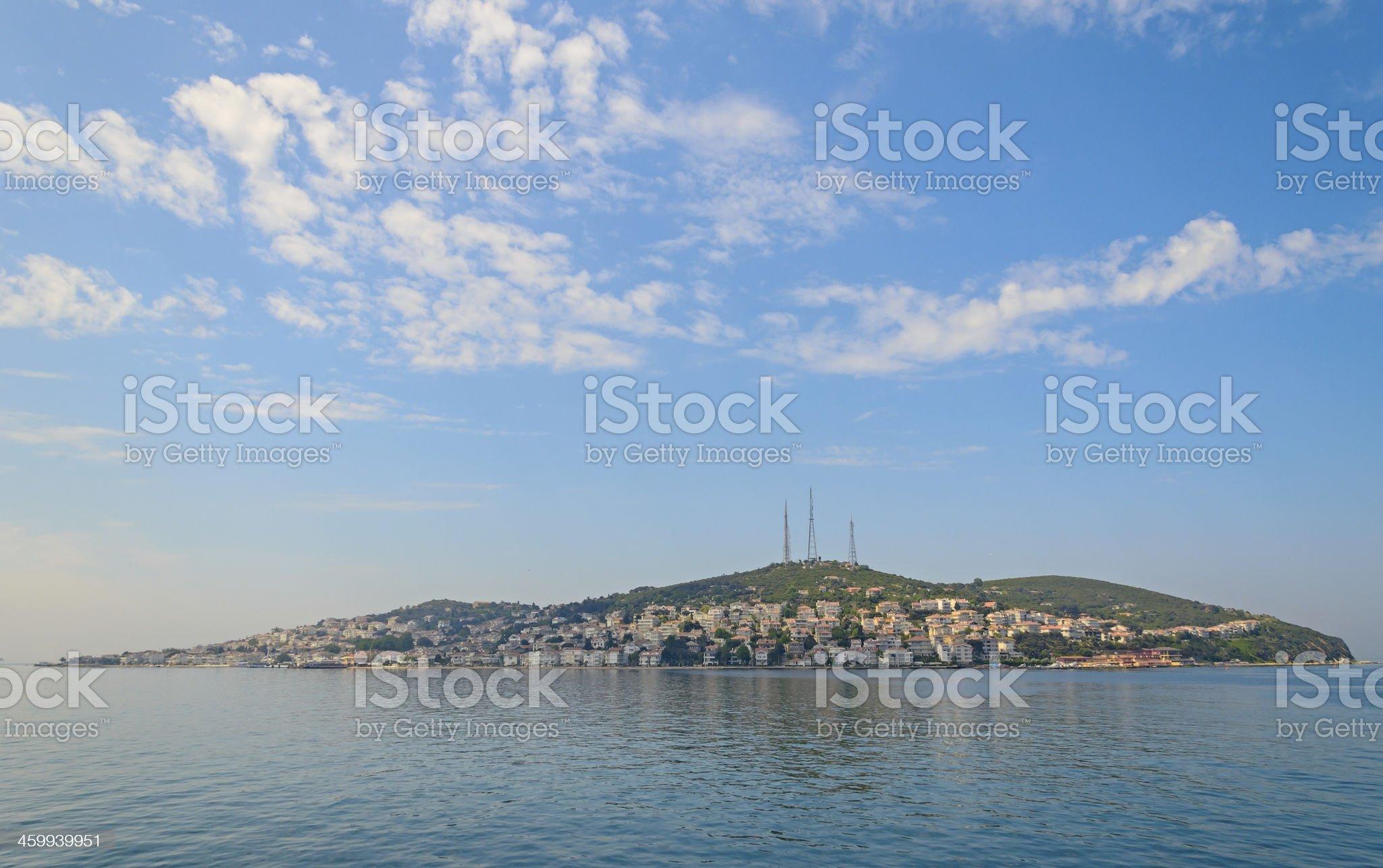 Turkey, the Marmara sea. royalty-free stock photo