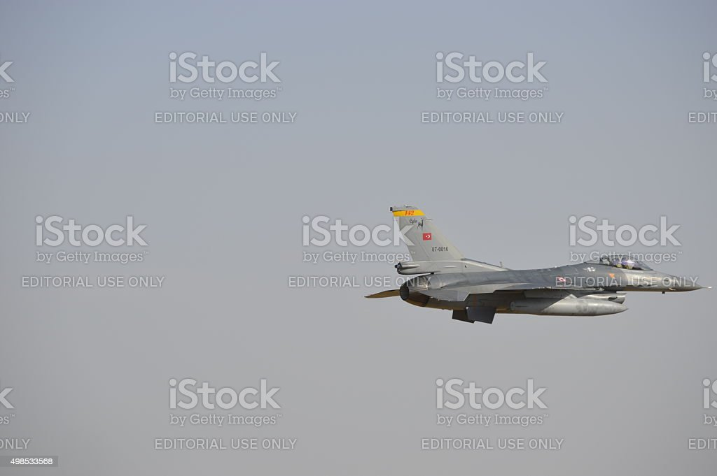 Turkish Air Force stock photo