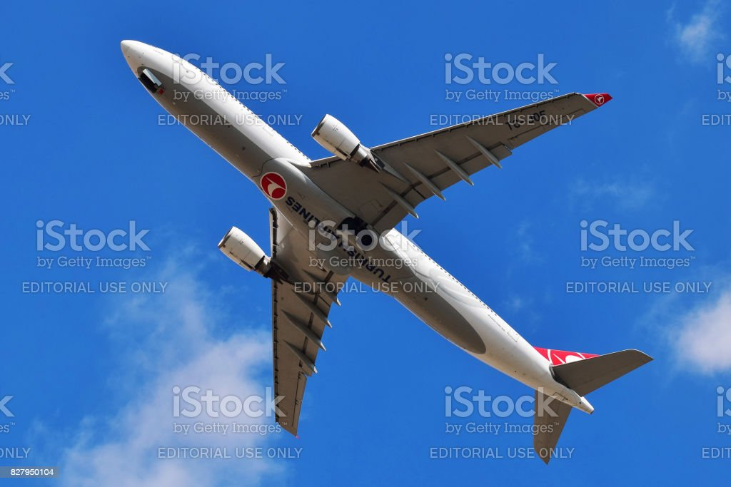 Turkish Airlines Airbus A330 stock photo