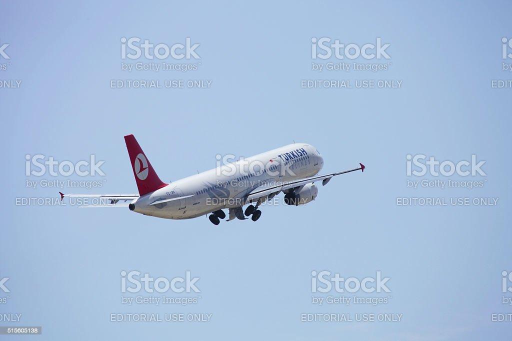 Turkish Airlines Стоковые фото Стоковая фотография