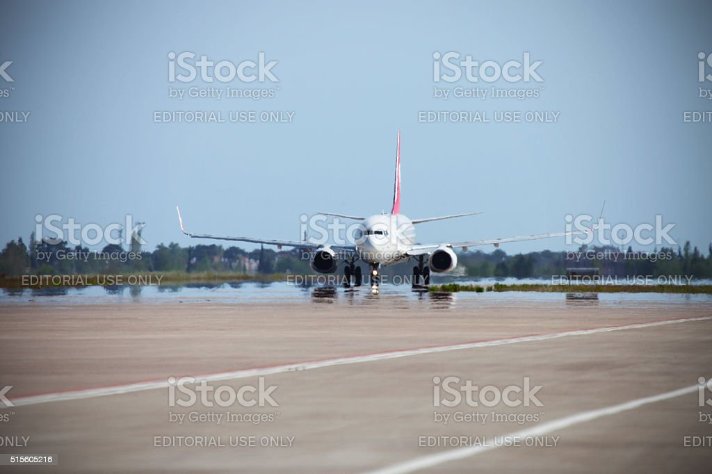 Turkish Airlines stock photo
