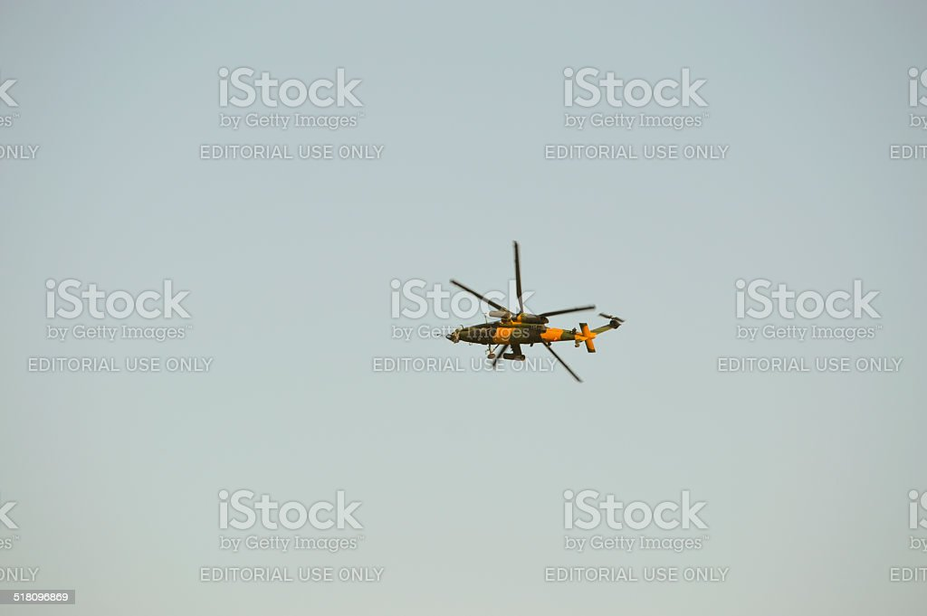Turkish Army New Attack Helicopter Named ATAK stock photo