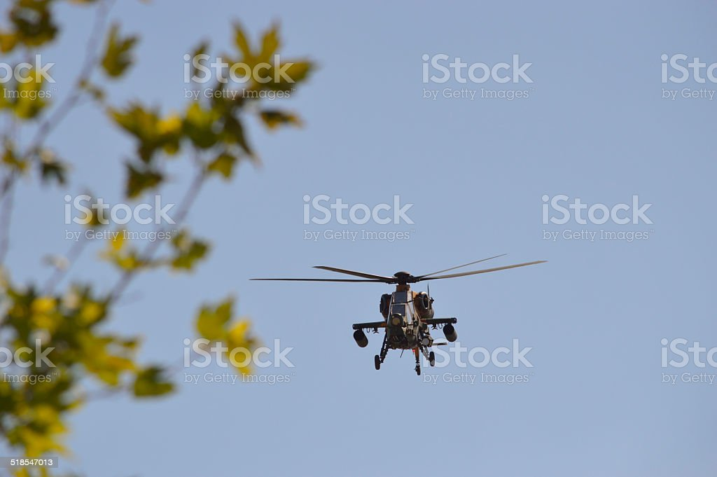 Turkish Army New Attack Helicopter stock photo