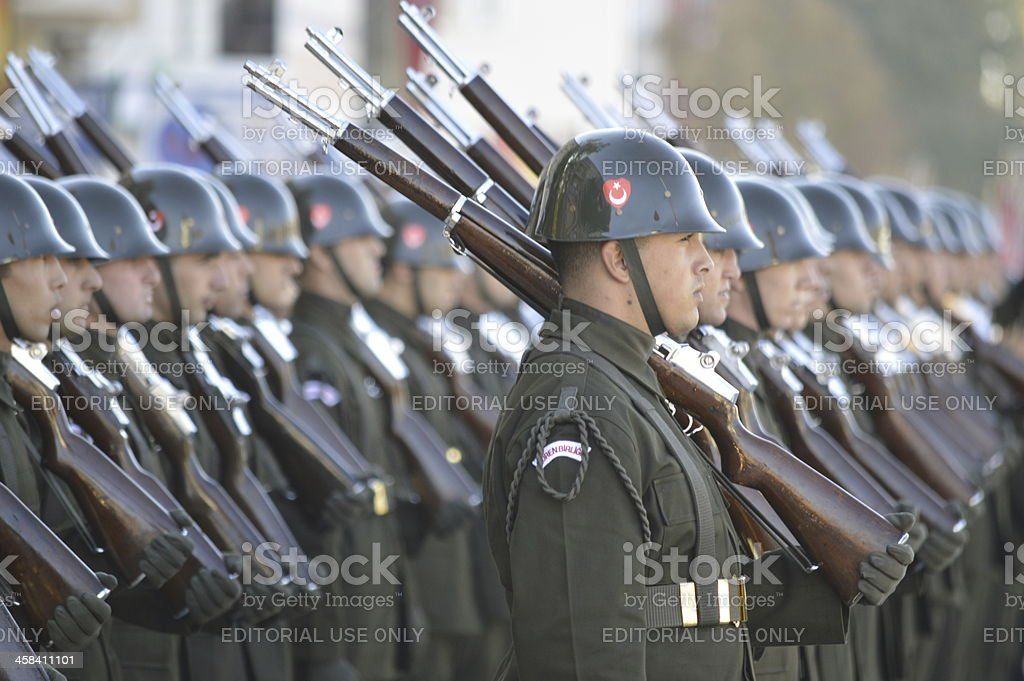 Turkish Army royalty-free stock photo