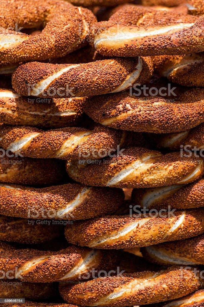 Turkish Bagel stock photo
