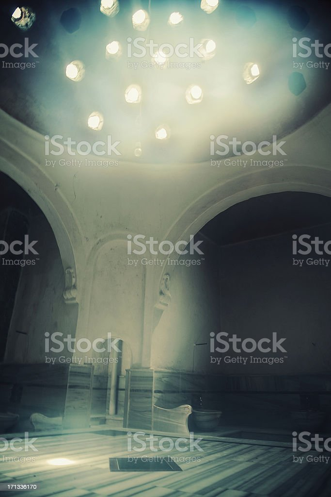 Turkish Bath stock photo