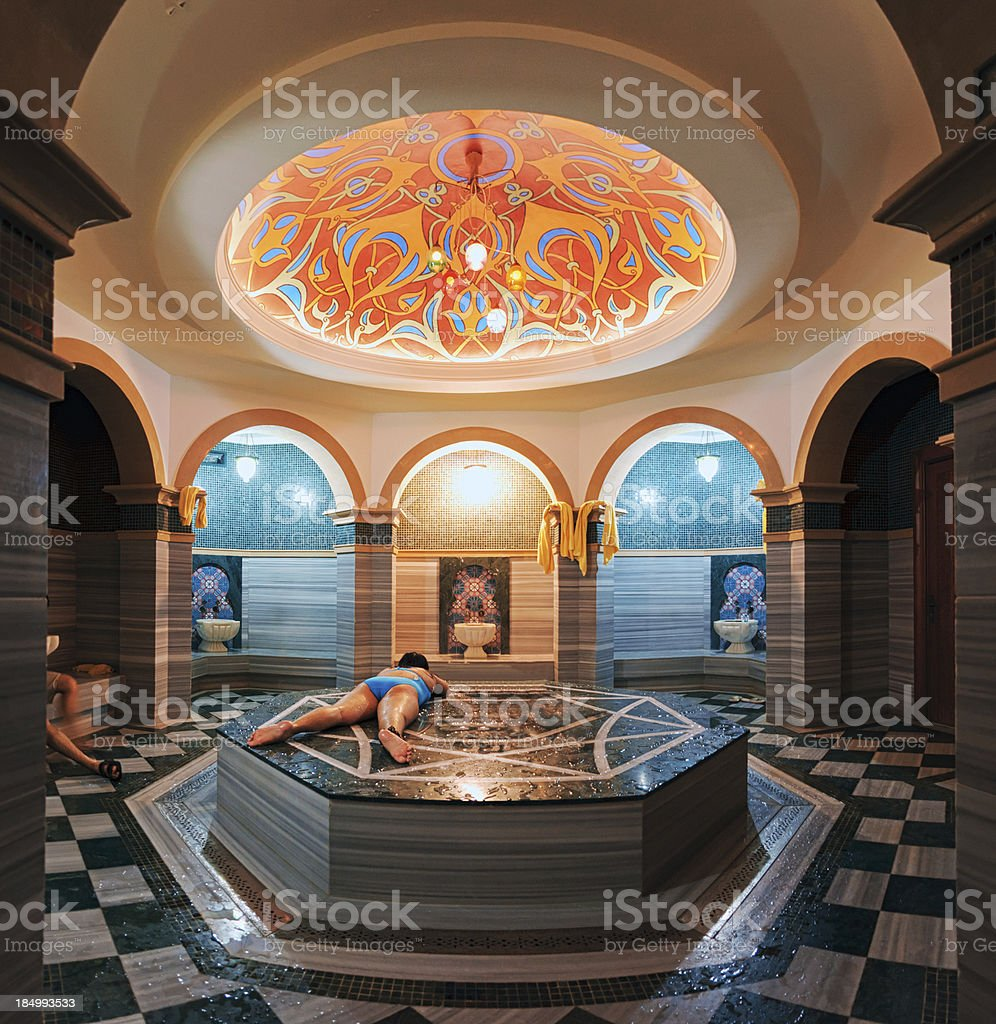 Turkish Bath (Bathhouse) stock photo