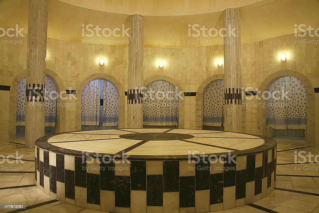 turkish bath royalty-free stock photo