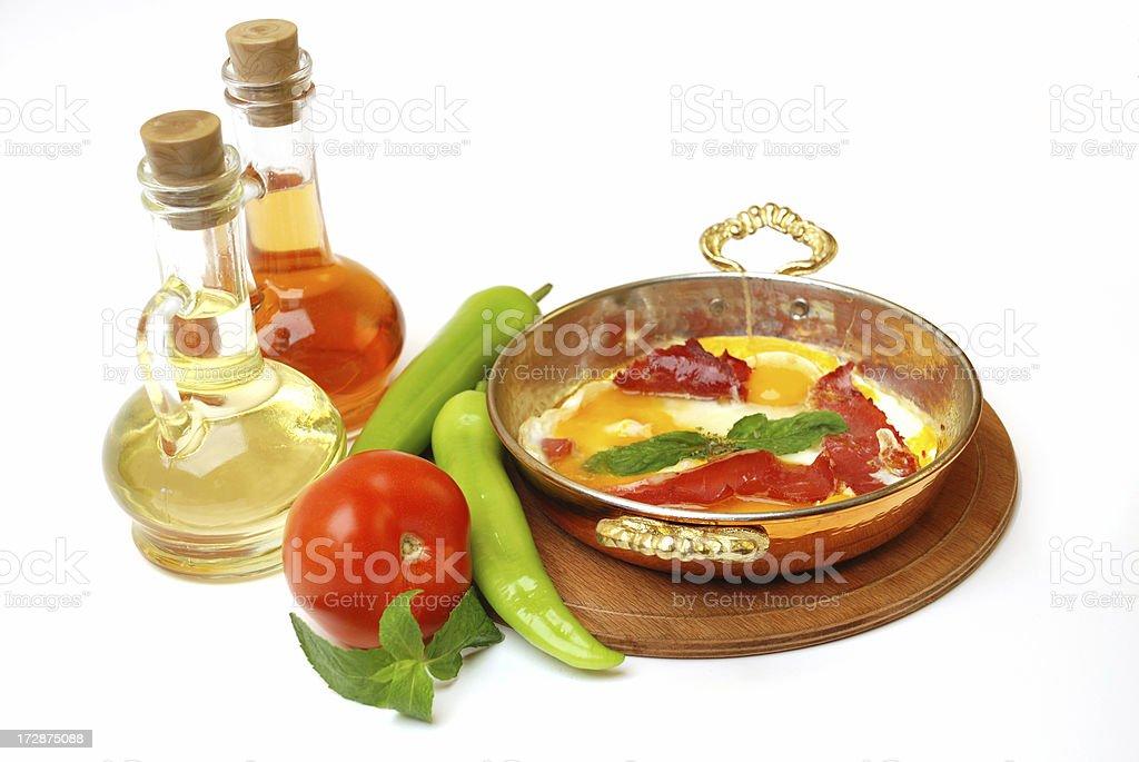 Turkish Breakfast royalty-free stock photo