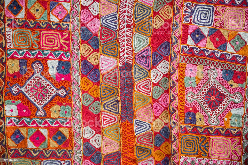 Turkish Carpet Background stock photo