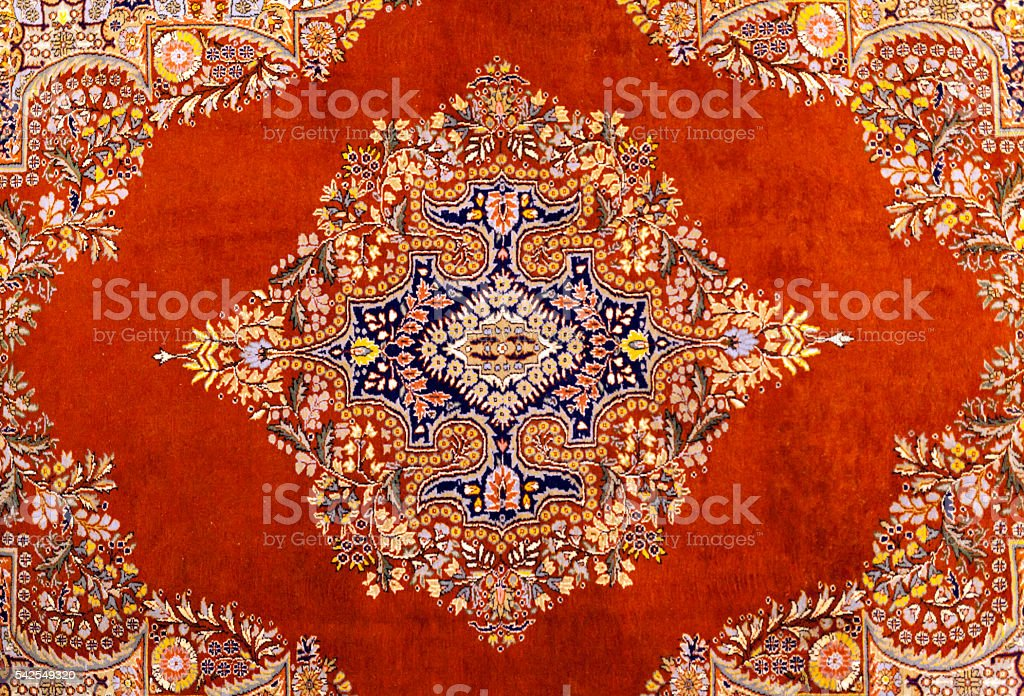 Turkish Carpet Backgrounds stock photo