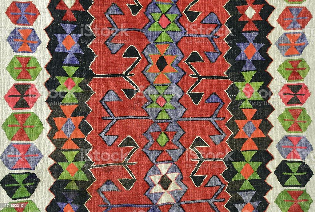 Turkish Carpet royalty-free stock photo