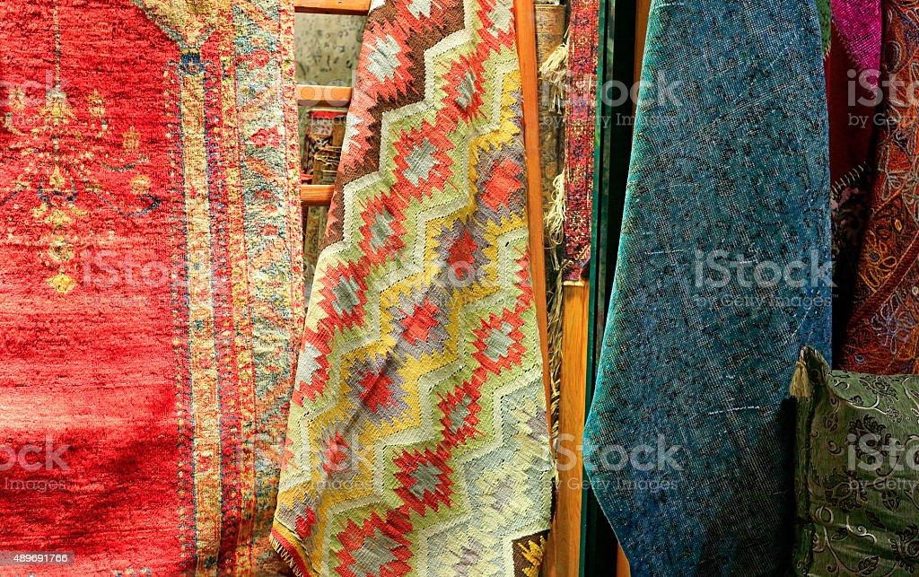 Alfombras Turcas Mundo Grand Bazaar Estambul Turqu A Stock