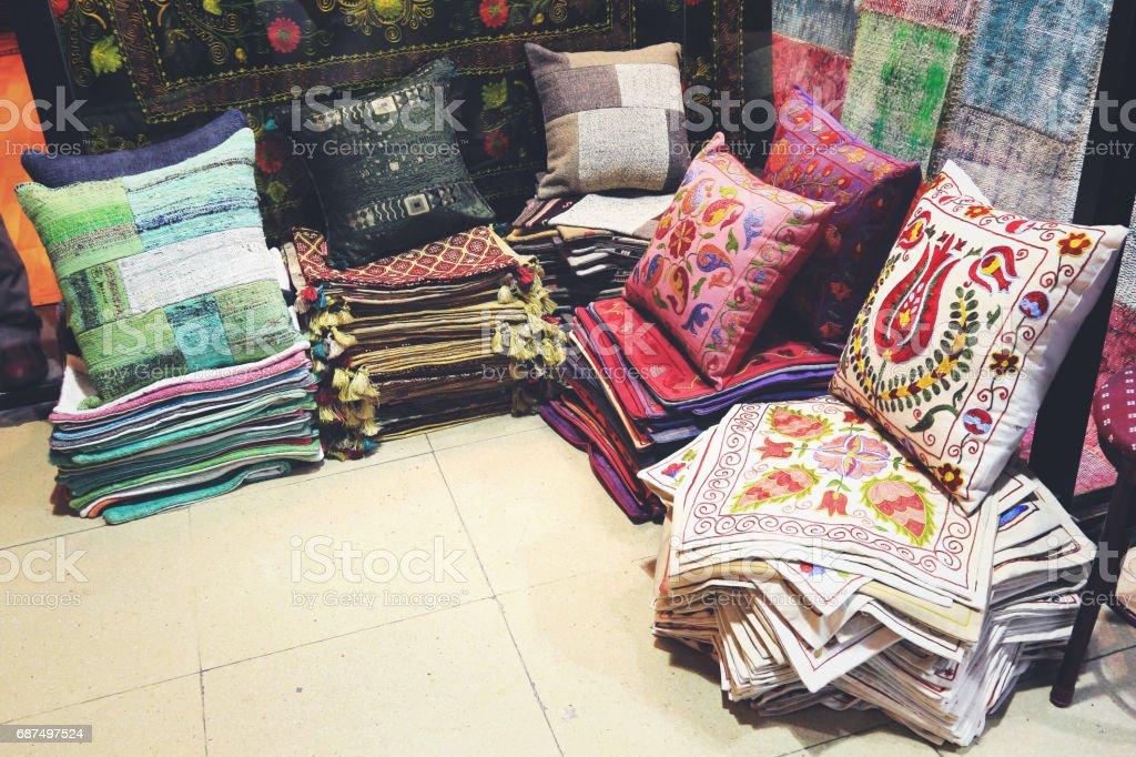 Turkish Carpet World Grand Bazaar, Istanbul, Turkey stock photo