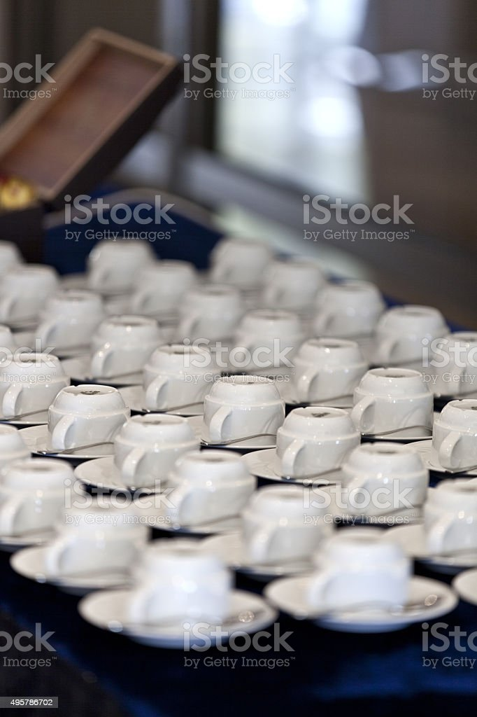 turkish coffee cup stock photo