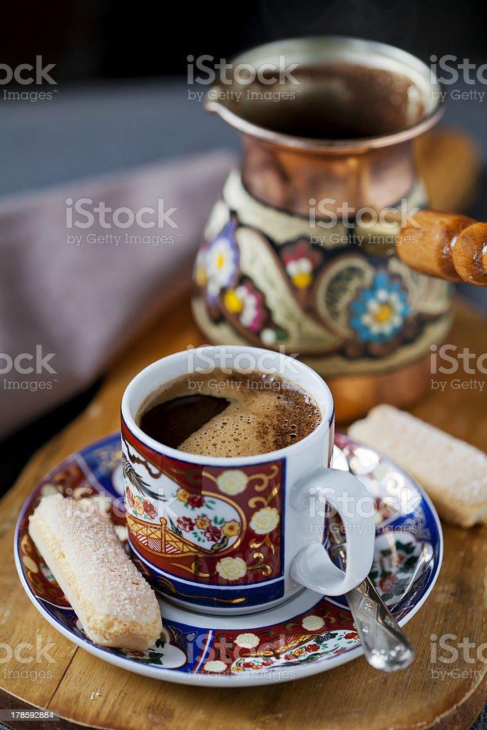 Café turco foto royalty-free