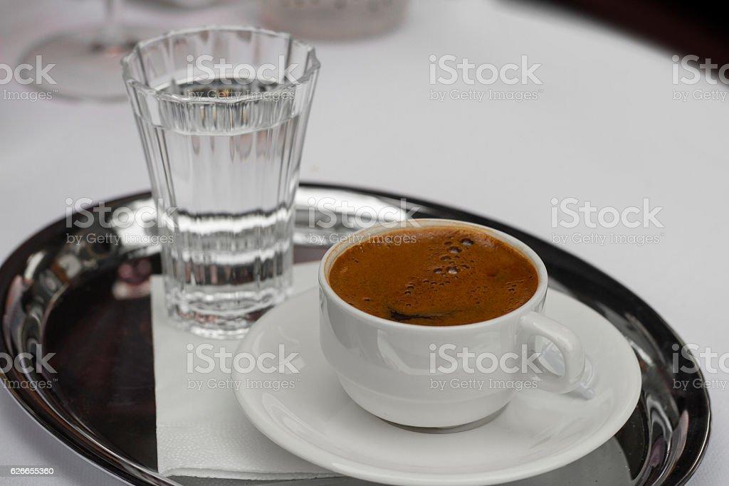 Turkish Coffee - Stock image stock photo