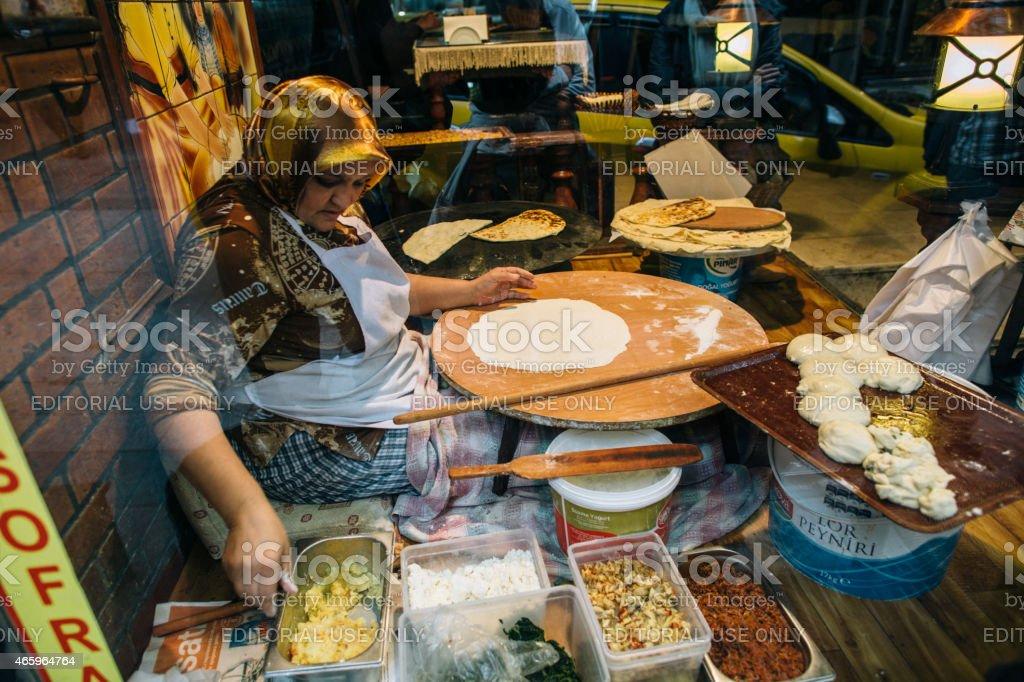 Turkish cooker stock photo