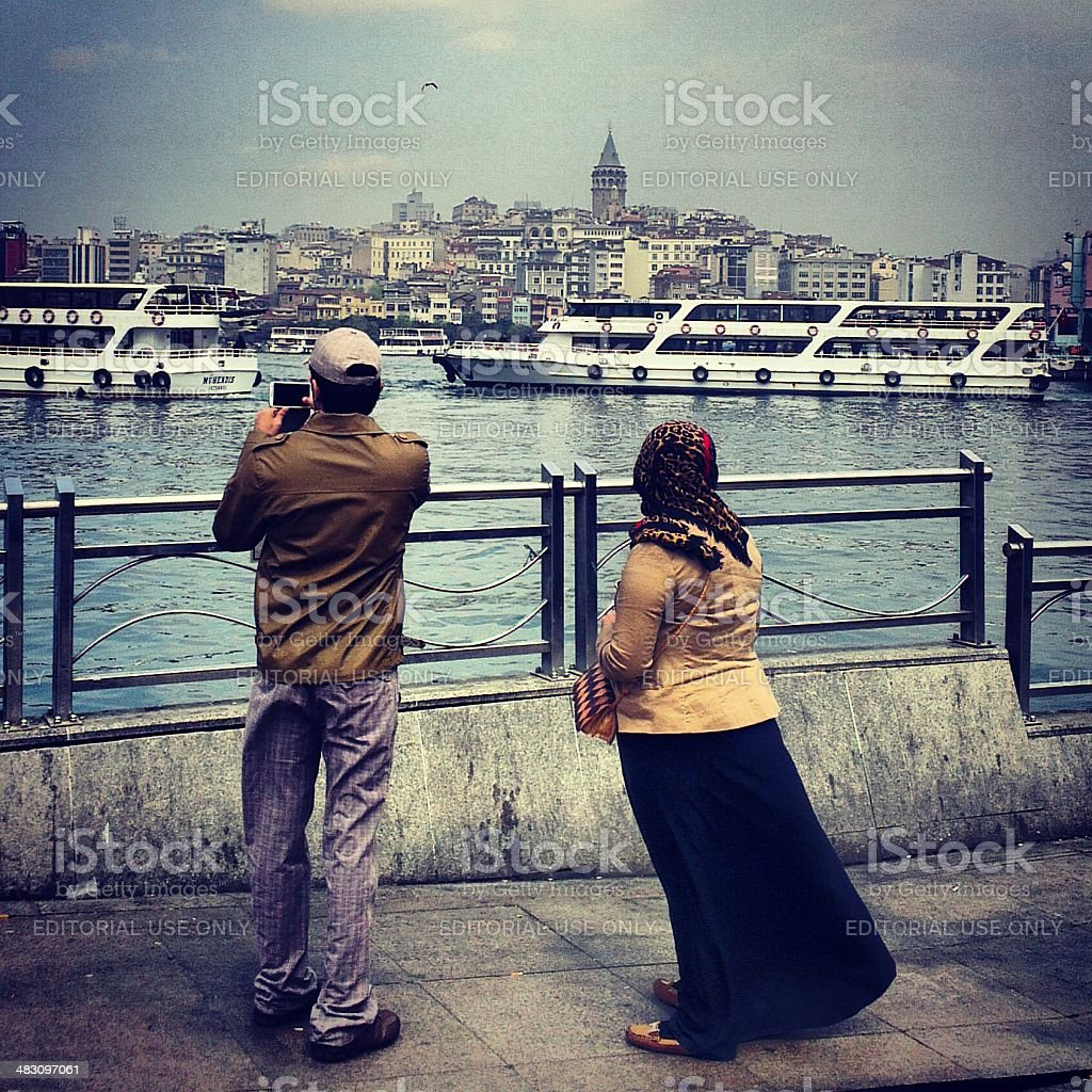 turkish couple royalty-free stock photo