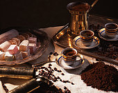 Turkish delight and Turkish coffee