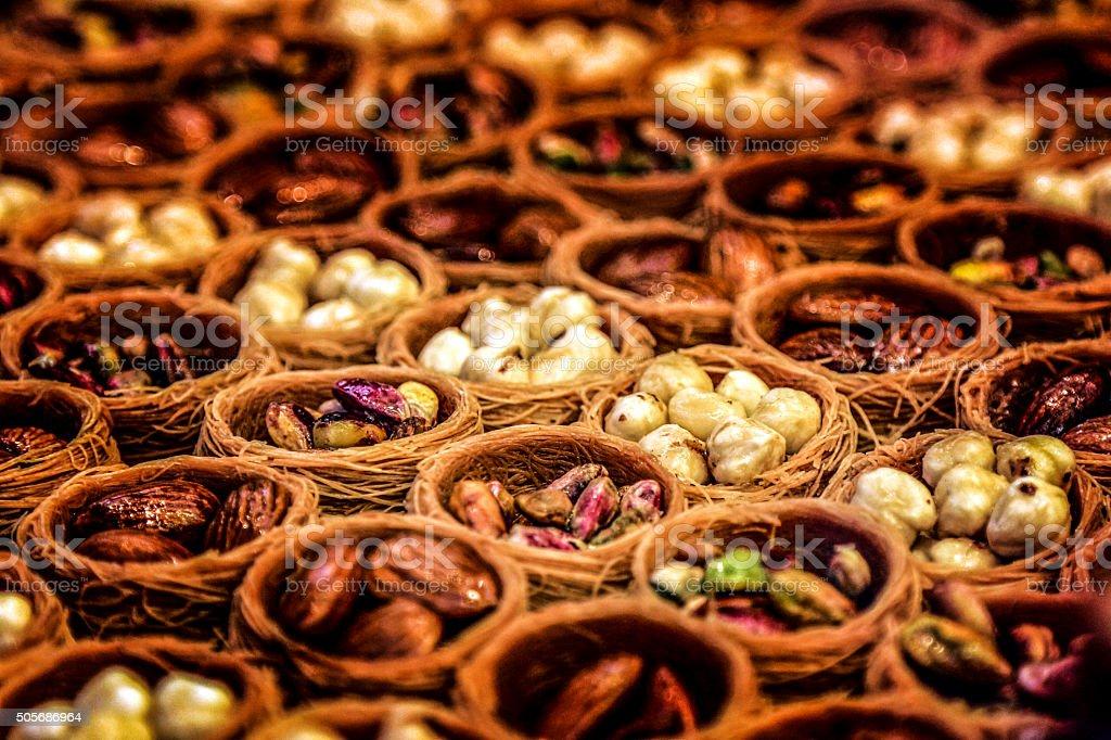 Turkish Delight stock photo