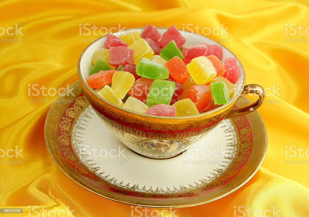 Turkish delight royalty-free stock photo
