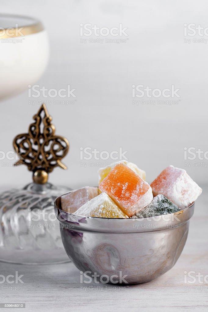 Turkish Delight,lokum stock photo