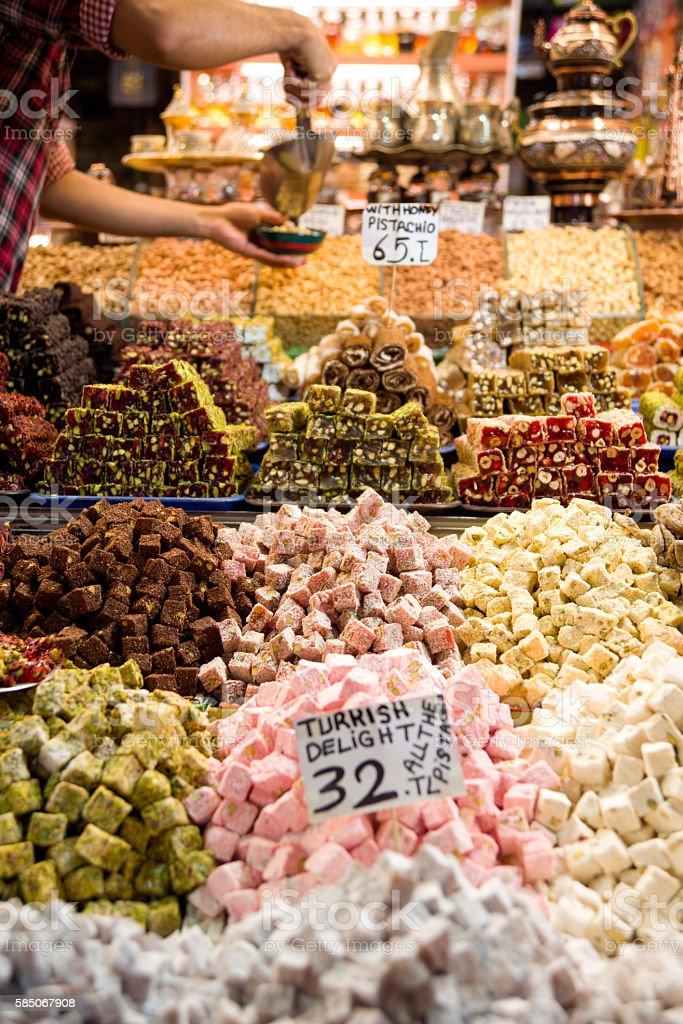 Turkish Delights stock photo