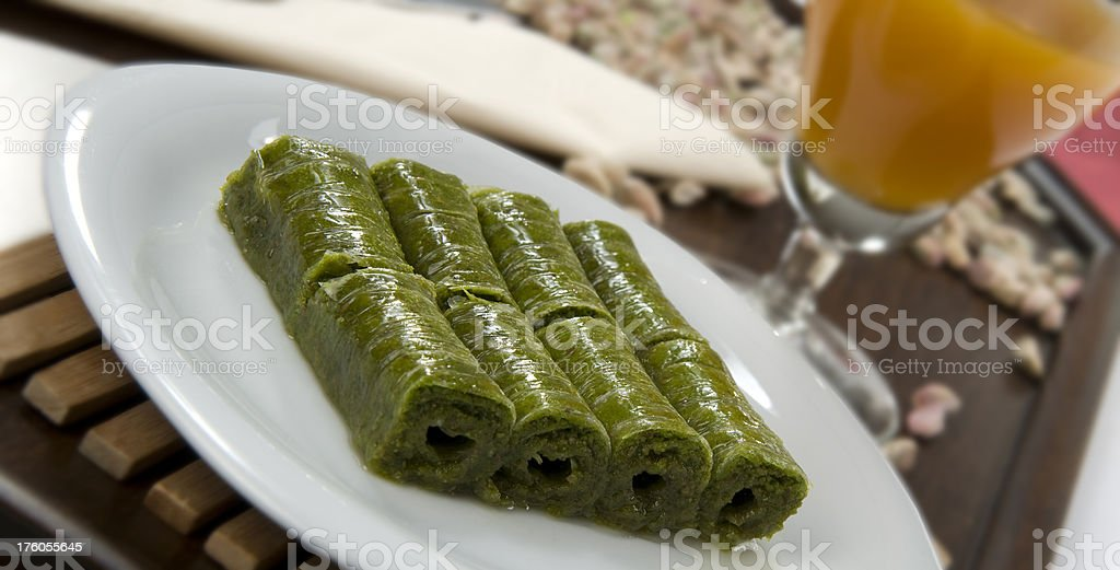 Turkish Dessert royalty-free stock photo