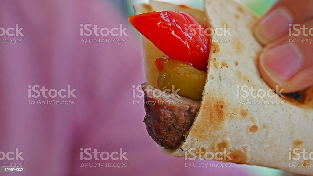 Turkish doner stock photo