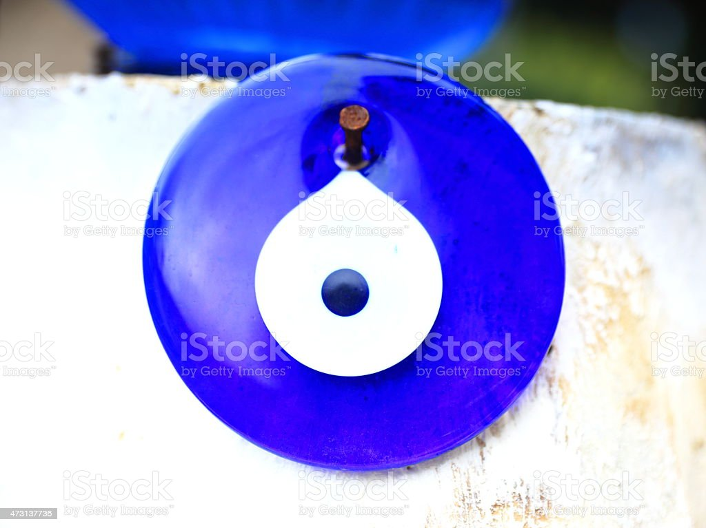 Turkish eye stock photo