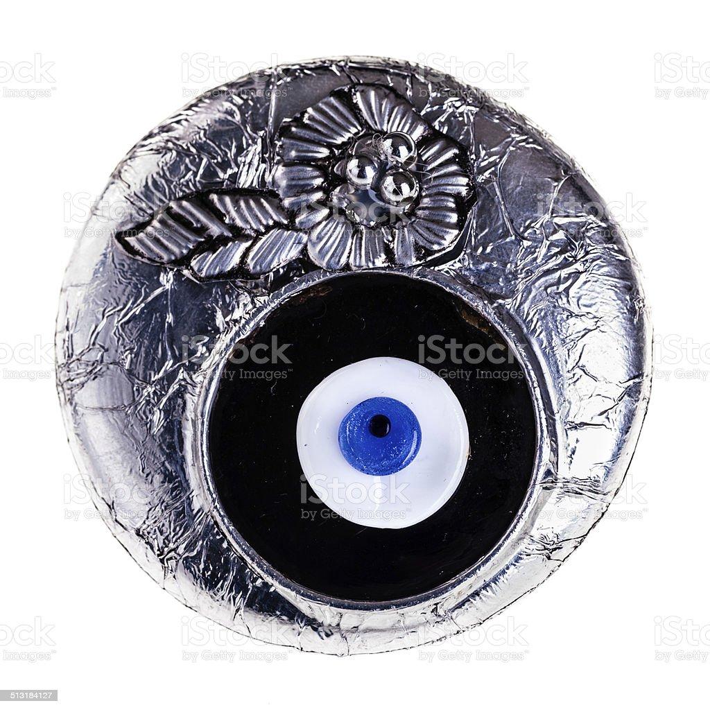 Turkish eye stock photo