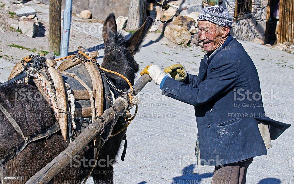 トルコの農家 ロイヤリティフリーストックフォト