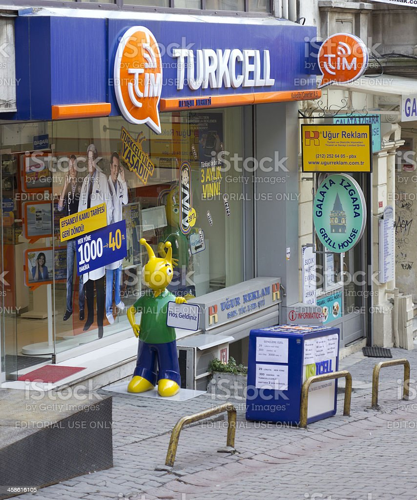 Turkish Gsm Company stock photo